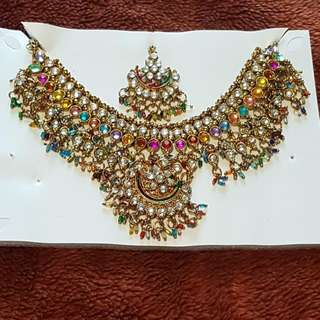 Indian Jewellery - Multicoloured