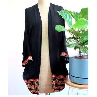 ASOS Embroidered Kimono Jacket $55