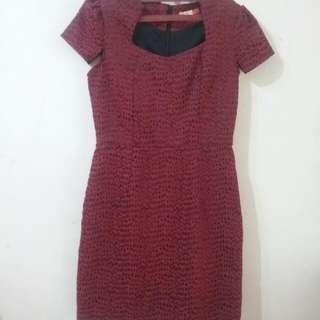 Mini Dress Merah