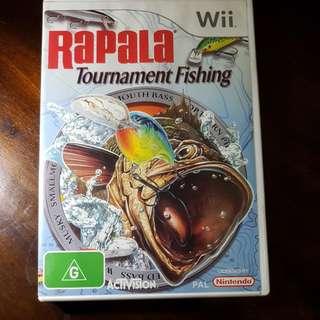 Rapala Tournament Fishing Wii Game