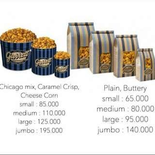 Garret Popcorn PO