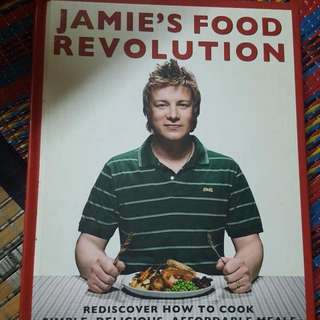 Hard Cover Jamie's Food Revolution