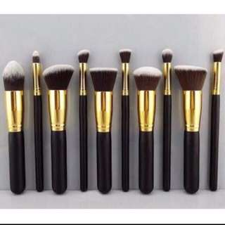 10 Pieces Brush Set