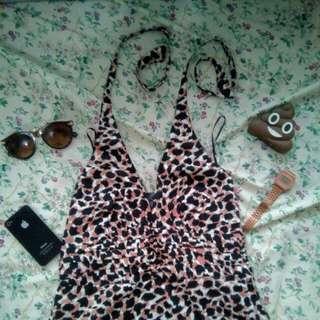 H&M Leopard Summer Dress