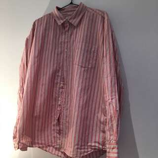 Vintage Colorado red and white striped XL could fit a large