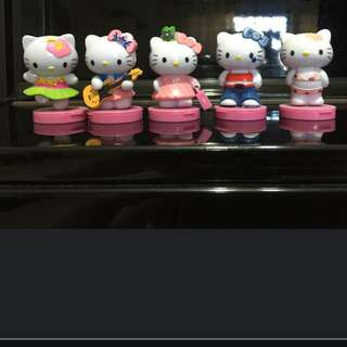 Set Of 5 Hello Kitty Figurine @ $15