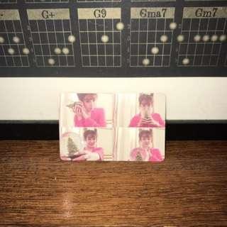 TTS Tiffany 'Dear Santa' Photocard (red ver.)