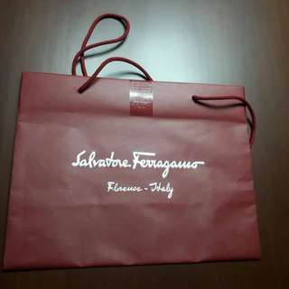 Paperbag Salvatore Ferragamo