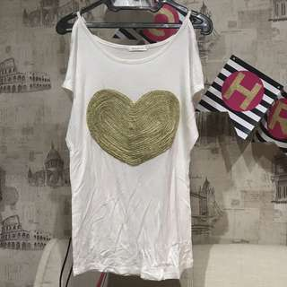 Heart Yellowline Top