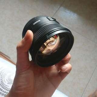 Sigma 50mm f1.4 EX DG