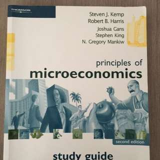 Principles of Microeconomics: Study Guide by Steven J. Kemp, Robert B. Harris...