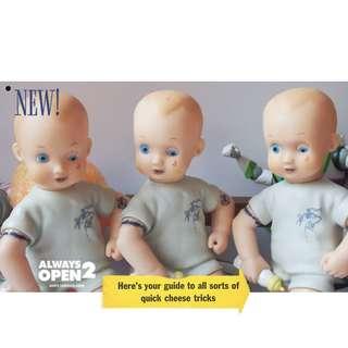 正版絕版古董娃娃嬰兒玩具公仔擺件手辦 活死人娃娃的感覺 玩具總動員