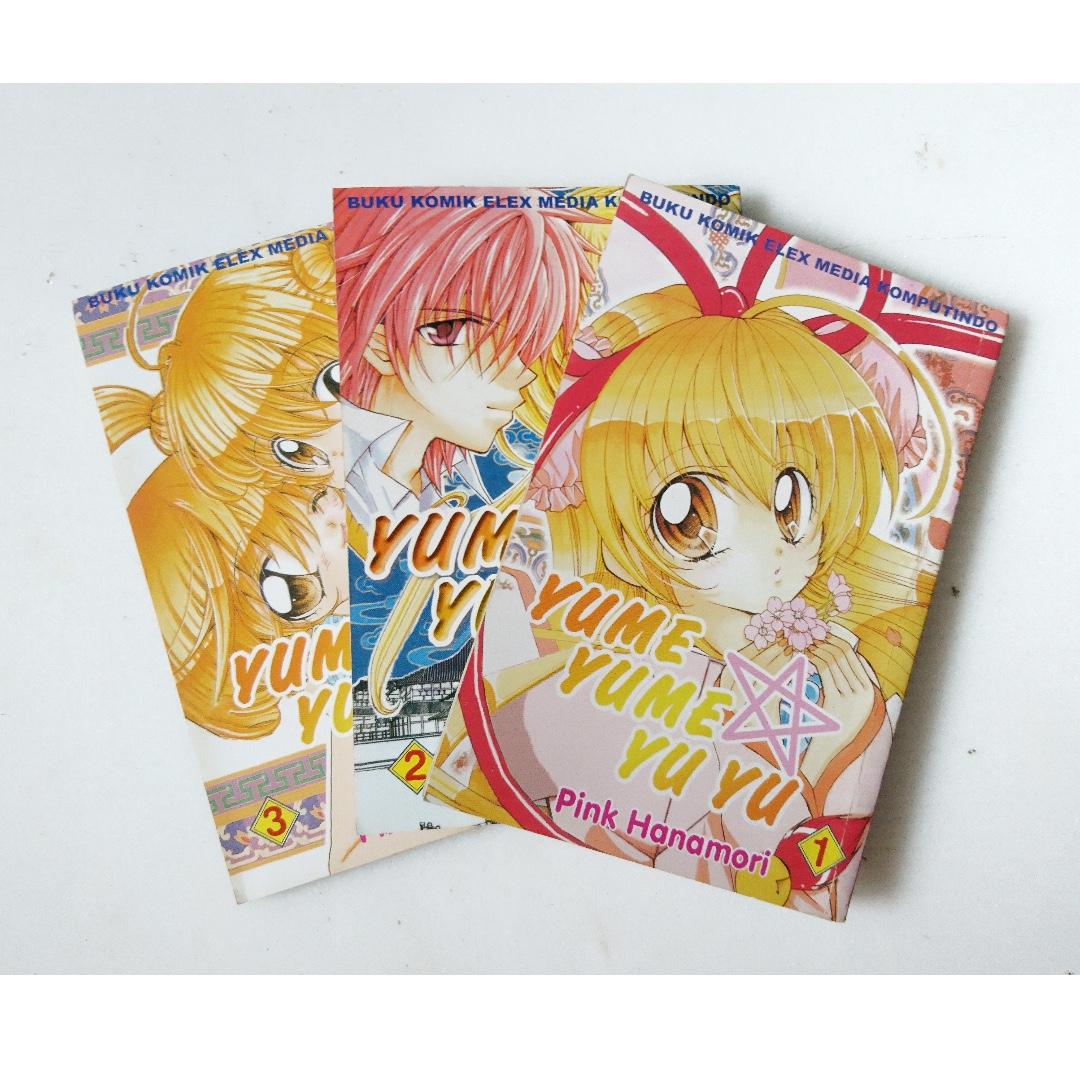 1 complete set komik Yume Yume Yu Yu (Comics)