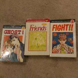 Komik Miniseri 3 Buku