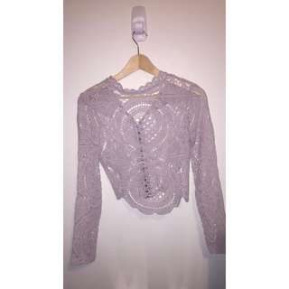 Mcl Fashion Lace Long Sleeve