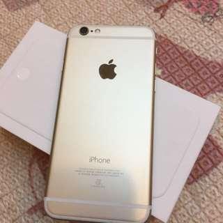 iPhone 6 金色16G 4.7吋