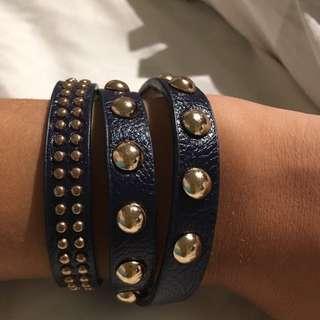 Steve Madden Leather Bracelet