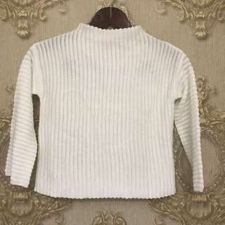 NEW | Colorbox White Sweater