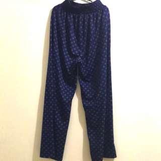 H&M Blue Cotton Pants