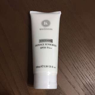 Brand New Whitening Defence Sunscreen SPF50 PA++