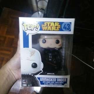 Star Wars Unmasked Vader Funko Pop