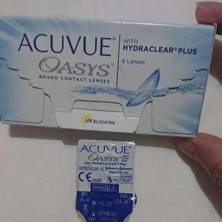 Disposable Contact Lenses Acuvue