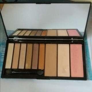 Makeup Revolution London Euphoria Palette Bronzed 眼影盤 鼻影胭脂highlight高光