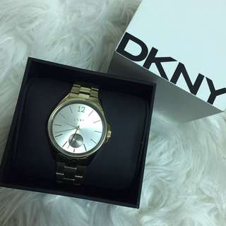DKNY gold Watch