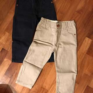 M&S Boys Chinos Size 1.5-2Y