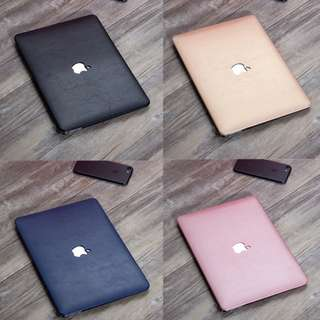 Textured (Leather-like) Macbook Laptop Case - Pro & Air
