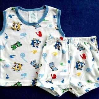 Terno Sando/shirt Shorts