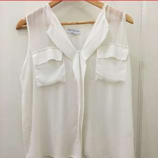 REPRICE COTTON ON Sleeveless Blouse