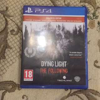 USED Dying Light: The Following