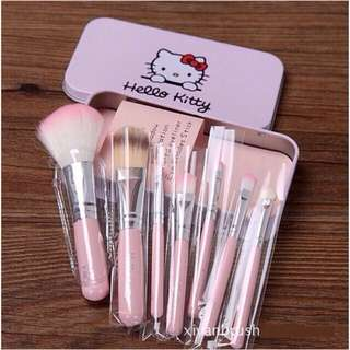 Kuas Hello Kitty Isi 7pcs