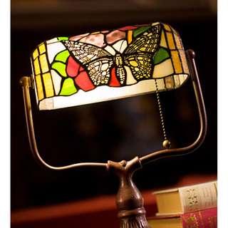 歐式復古銀行檯燈