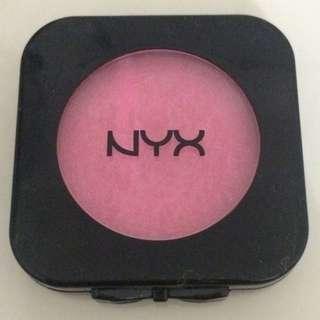 nyx blush on