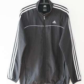 Adidas黑風衣外套 SIZE M 防風 復古 好看 舒服 透氣