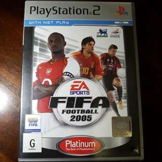 Fifa Football 2005 Playstation 2 Game