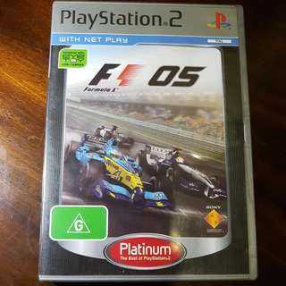 F1 Formula 1 2005 Playstation 2 Game