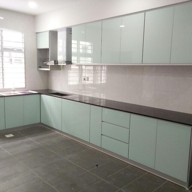 Aluminium Kitchen Cabinet: 4G Door Aluminium Kitchen Cabinet, Home & Furniture