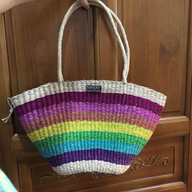 長灘島編織包