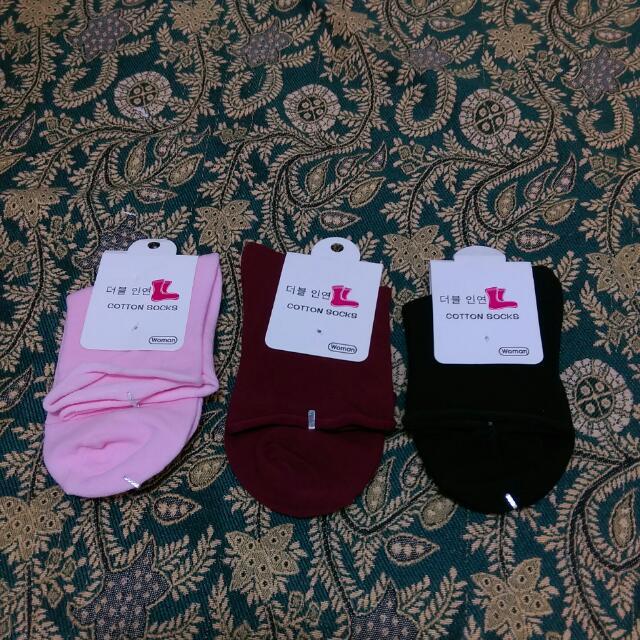 全新🔸可愛捲捲邊襪子🔸