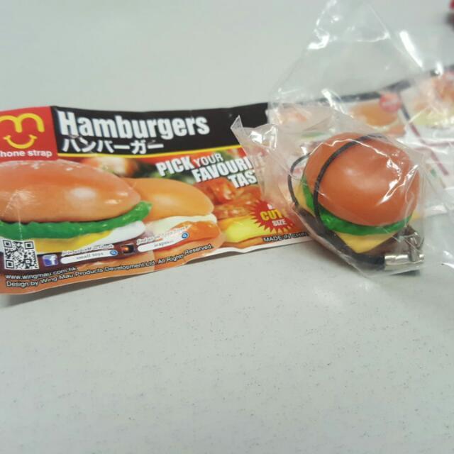 漢堡大全 扭蛋 牛肉漢堡