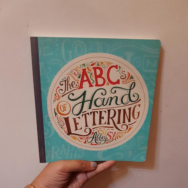 ABC of Handlettering by Abbey Sy