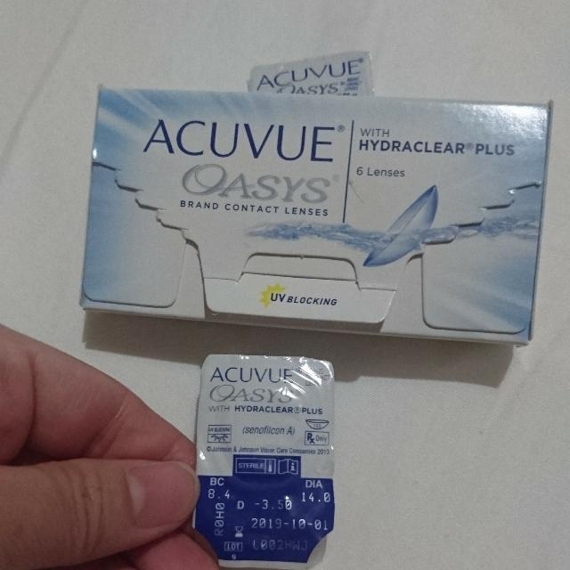 Acuvue Disposable Contact Lens