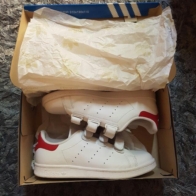 Adidas Stan Smith CF (Red)