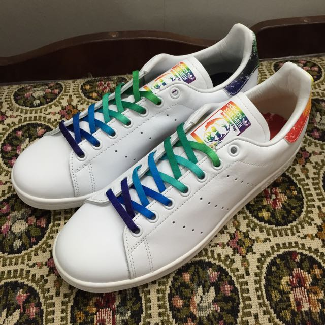 cheap for discount 16d30 8fc7a Adidas Stan Smith Pride, Men s Fashion, Footwear on Carousell