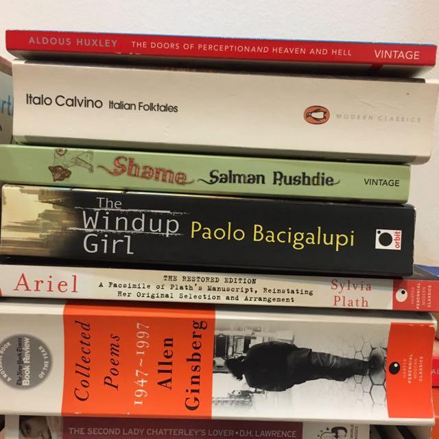 Adous Huxley Italio Calvino Salman Rushdie Paolo