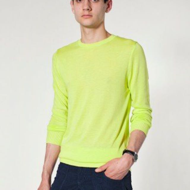 American Apparel Neon Crew Neck