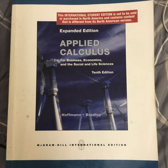 Applied Calculus 10th Edition